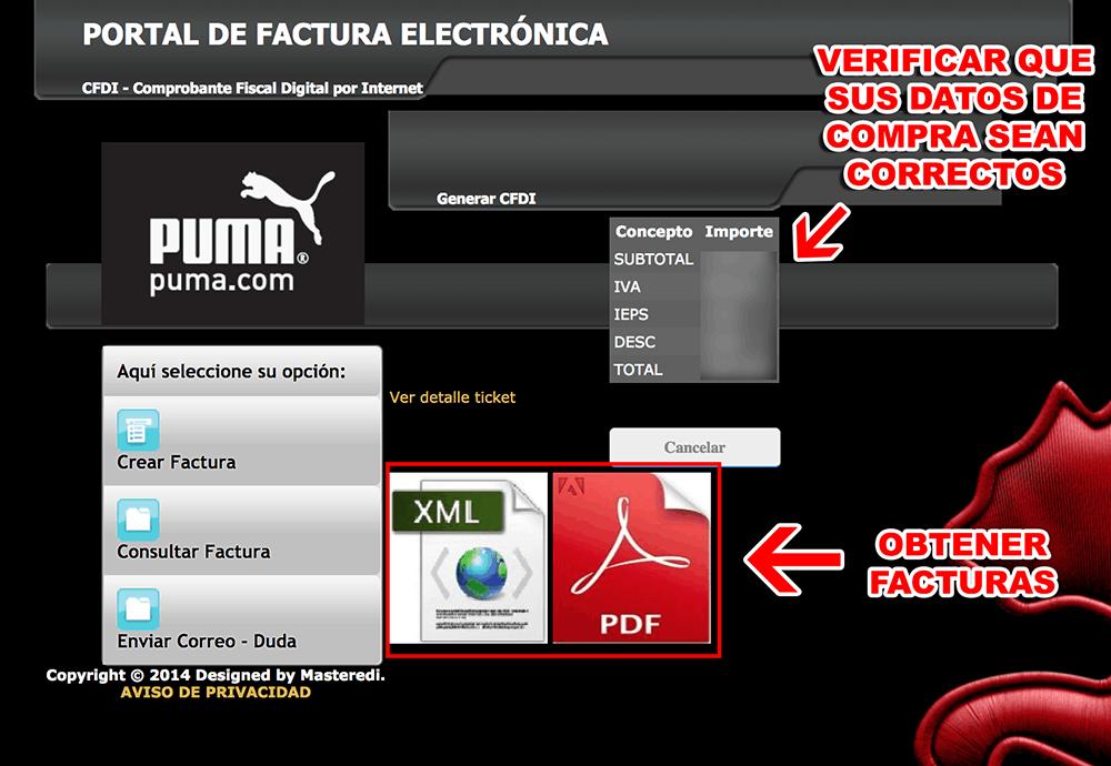 FACTURACIÓN PUMA 3